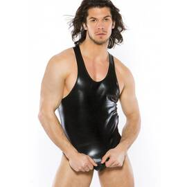 zeus mens wetlook tank top