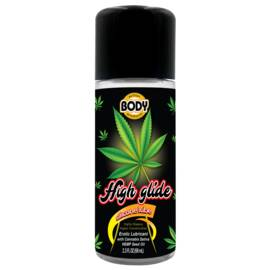 high glide erotic lubricant 2.3 oz bottle