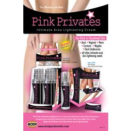body action pink privates poster( 2 per cust.)