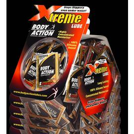 xtreme sample packet 144pc fishbowl display