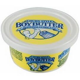boy butter lubricant 4 oz tub