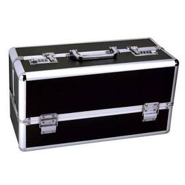 lockable vibrator case black large(out mid sept)