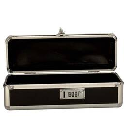 lockable vibrator case black small(out mid sept)