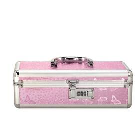 lockable vibrator case pink small(out mid sept)