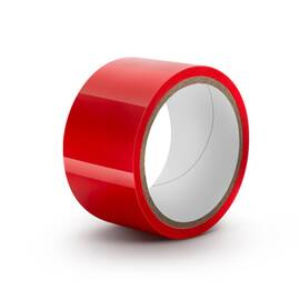 temptasia bondage tape 60ft red