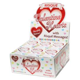 risque hearts 24pc display