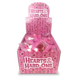 hearts & hard-ons 100 pc display