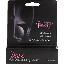 dare anal desensitizing cream 1/2 oz
