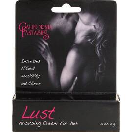 lust arousing cream for her 1/2 oz