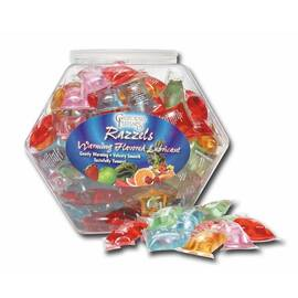 razzels assorted pillow pak fishbowl 100pc