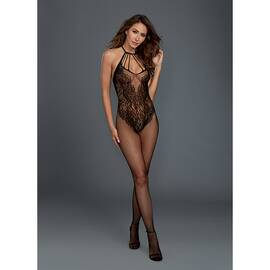 bodystocking black o/s