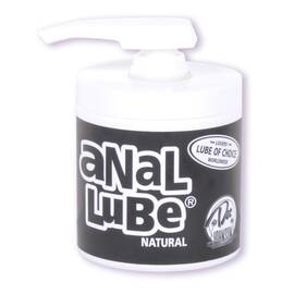 anal lube-natural 4.75 oz bu