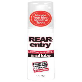 rear entry anal lube 1.7 oz bu