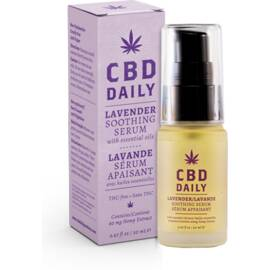 cbd daily soothing serum in lavender 20 ml