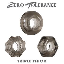 zero tolerance triple thick cock ring trio