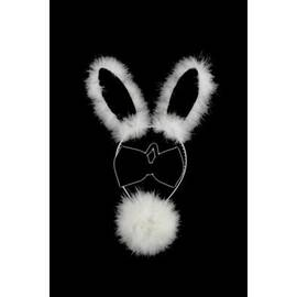 bunny set 3pc black/white