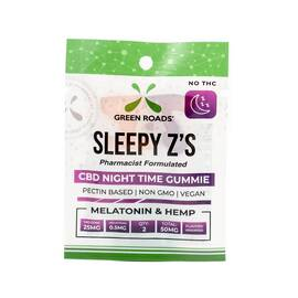 cbd edibles 50mg sleepy z's (net)