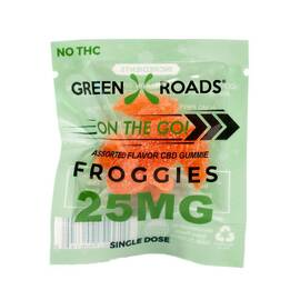 cbd edibles 25mg froggies on the go (net)