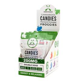 cbd edibles 200mg froggies 10 pc dsp (net)