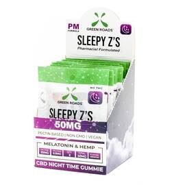 cbd edibles 50mg sleepy z's 10 pc dsp (net)