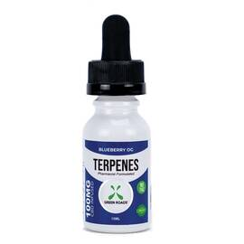 (d) terpenes oil blueberry og 100mg (net)
