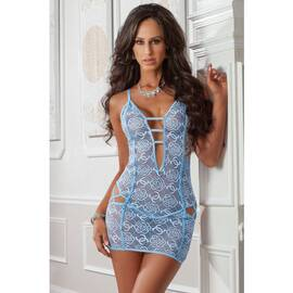 (d) 1pc cheeky strappy night d blue jay