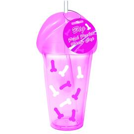 (d) big pink pecker party cup