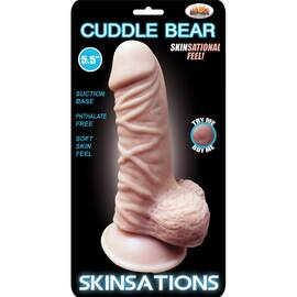 skinsations cuddle bear 5.5 in dildo