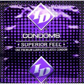 id superior feel condom 3pk