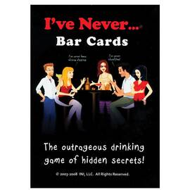ive never bar cards