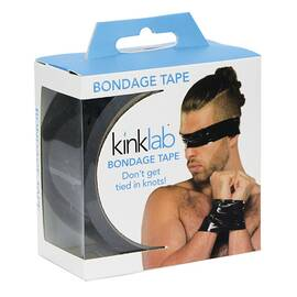 bondage tape male black