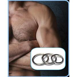 steel o rings 3 pack