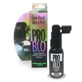 problo numbing spray mint