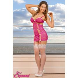 chemise & g string set large