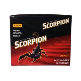 scorpion box of 30 pills (net)