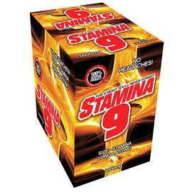 stamina 9 display 24pc (net)