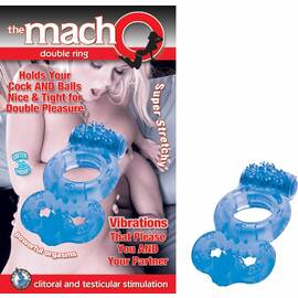 macho double ring blue