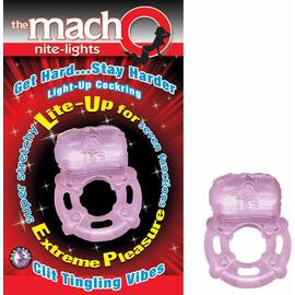 macho nite lights purple
