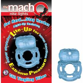 macho nite lights blue