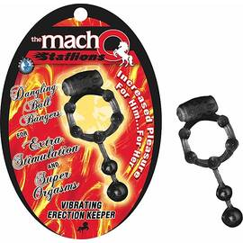 macho stallions vibrating erection keeper