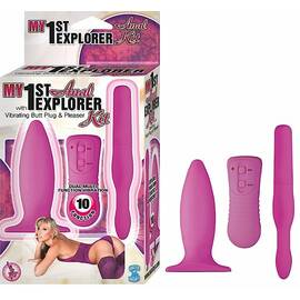 my 1st anal explorer kit pink