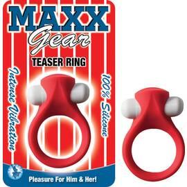 maxx gear teaser ring red
