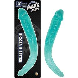 maxx mens 15 crystal curved double dong-blue ""