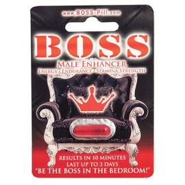 boss male enhancement pill 1pc