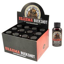 brahma buckshot 1 ct bottle male enhancement