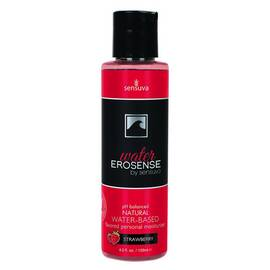 erosense water strawberry flavored water based lubricant 4.2 oz