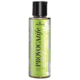 provocatife cannabis oil & pheromone infused massage oil 4.2 oz