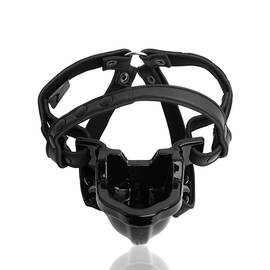 watersport strap on gag black (net)