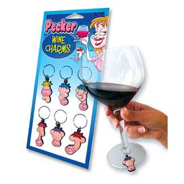 pecker head wine charms (out jan)