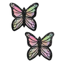 pastease monarch glitter pastel rainbow butterfly
